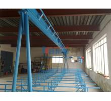 Гидравлический пресс для производства ферм MiTek. Модель Mark 4