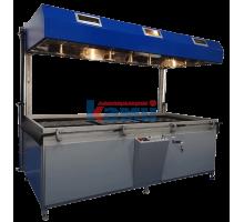 Пресс мембранно-вакуумный RTM. Модель PV3000L
