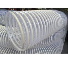 Воздуховод  из  пластичного ПВХ армированный ударопрочной спиралью ф100 мм