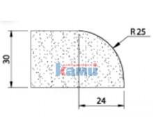 Комплект инструмента по камню профиль В30 Ghines  r25
