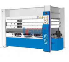Гидравлический горячий пресс с плоскими столами Vario Press. Модели 25-100/1, 25-100/2, 25-100/3