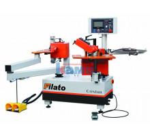 Автоматический кромкооблицовочный станок для криволинейных деталей FILATO. Модель CONTUR