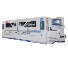 Четырехсторонний продольно-фрезерный станок премиум-класса QUADRO 723 High Speed (3 джоинтера, 60 м/мин)