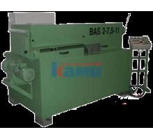 Станок для переработки горбыля MS Maschinenbau. Модель BAS 2-7.5-15