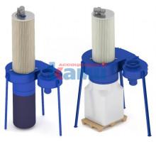 Фильтры кассетные с автоматической регенерацией. Модели ФЦ-М-3000КР и ФЦ-М-6000КР (КРК)