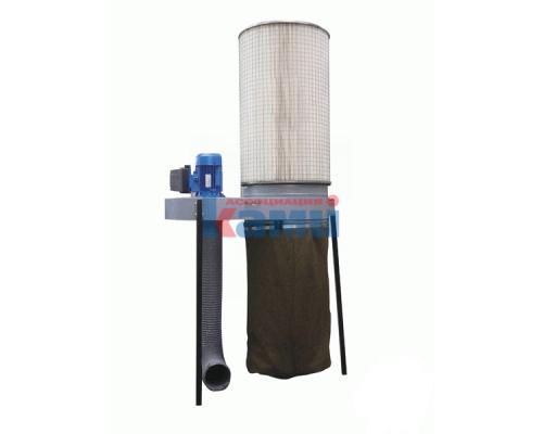 Пылеулавливающие агрегаты с фильтр-кассетами серии УВП-ФК2