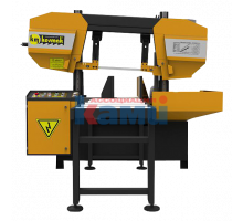 Полуавтоматический ленточнопильный станок KESMAK. Модель KLY DG 420