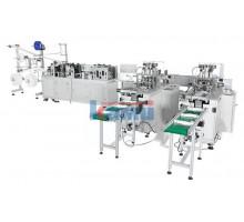 Автоматическая линия для производства одноразовых медицинских масок. Модель AMF 120