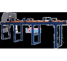 Рольганг приводной с центрователем MS Maschinenbau. Модель EZV