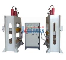 Гидравлический пресс для производства гнуто-клееных изделий с ТВЧ генератором. Модель VP-20/10TH