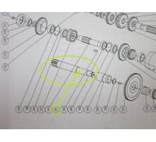 CDS-26701 вал-шестерня для CDS6240B/1000