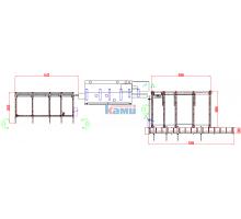 Система автоматической подачи-приёма заготовок АСП-6